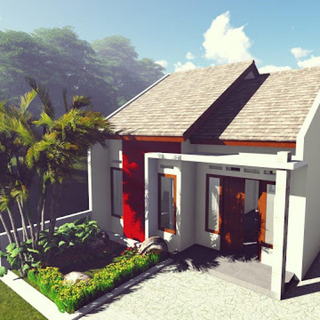 Rumah minimalis modern 2020