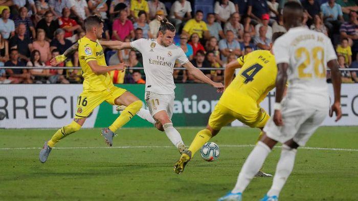 Goal Gareth Bale selamatkan Real Madrid dari kekalahan saat bertandang ke Villarreal.