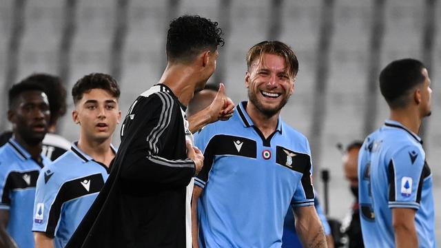 Ciro Immobile dan Cristiano Ronaldo