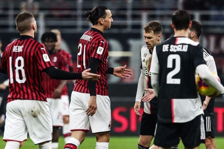 AC Milan vs Juventus, Liga Italia Giornata 30 Pertegas Capolista
