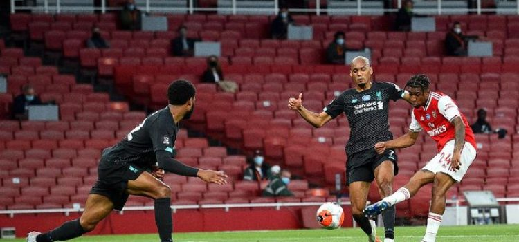 Arsenal vs Liverpool skor akhir 2-1