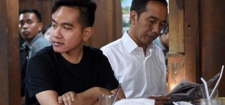 Gibran (Kiri) dan Presiden Joko Widodo (Kanan)