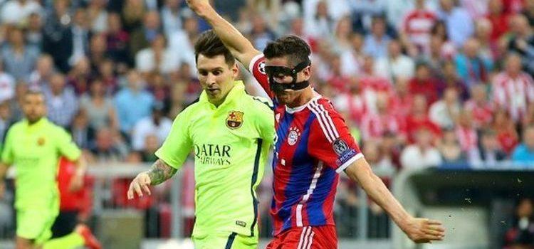 Lionel Messi dan Robert Lewandowski babak semifinal Liga Champions 2014-2015